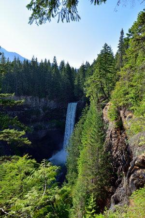 The Spectacular Brandywine Falls near Whistler, British Columbia, Canada.