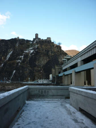 wintriness: Castle and Floodgate