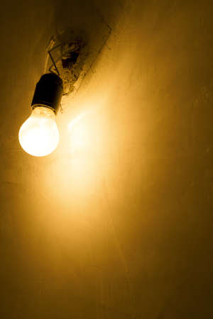 Lamp and wall, background Stock Photo - 4148270