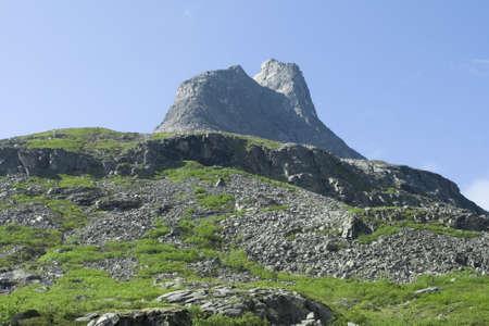 Mountain, Norway, summer photo