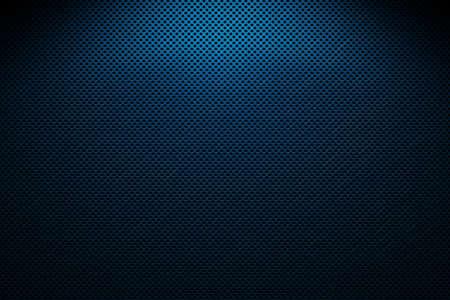 grating: metal grating, blue and black
