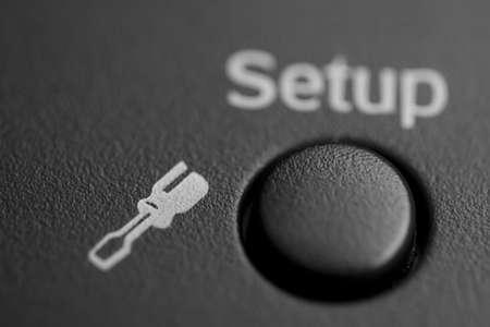 Black button Setup