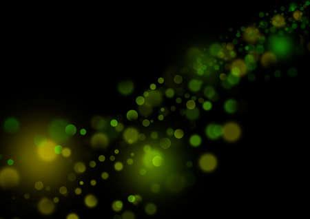 Glittering lights, background, dark Stock Photo - 4823813