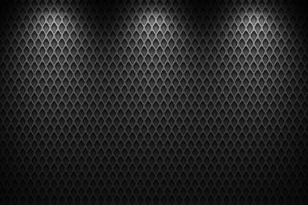 mesh texture: metal wire mesh, black and gray