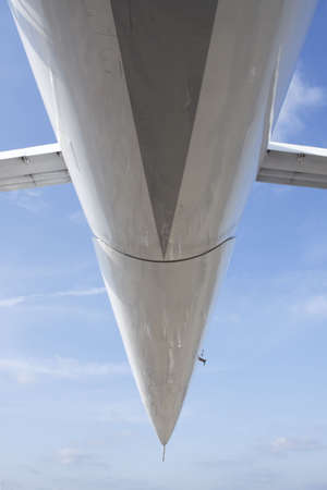 Under the Droop-snooper of  jetliner aeroplane, MAKS 2009 Moscow photo