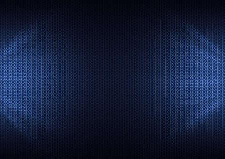 Blue Metal Plating & light ray photo