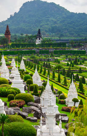 Botanical Garden in Pattaya Nong Nooch Stock Photo