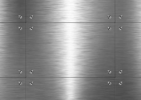 aluminium texture: Background is made of brushed metal plate. Pattern (seamless)