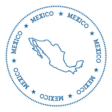 Mexico United States Of Administrative Map And Flag Stock Photo - Us map clipart