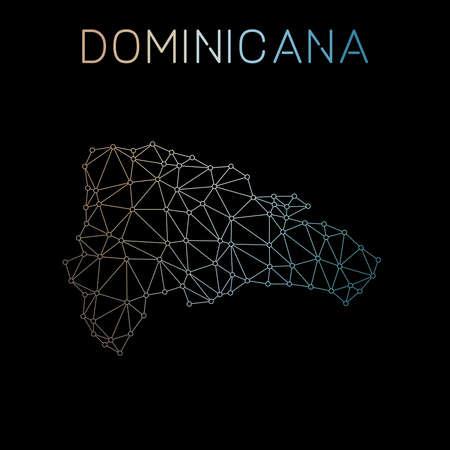 Dominican Republic network map