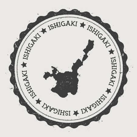 Ishigaki sticker.