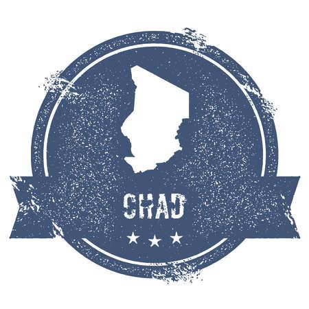 Chad map badge.