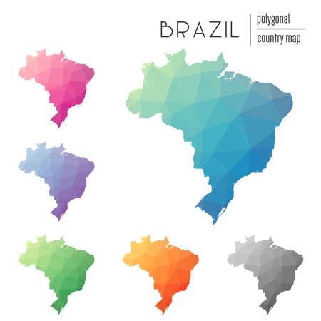 Federative Republic Of Brazil Cliparts Stock Vector And - Federative republic of brazil map