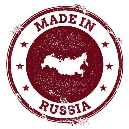 Made in Russia icon.