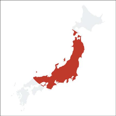 Cartina Muta Del Giappone.Vettoriale Programma Di Regione Del Giappone Retro Profilo Marrone Di Stile Su Vecchia Priorita Bassa Di Carta Mappa Dettagliata Delle Regioni Del Giappone Illustrazione Vettoriale Image 86484751