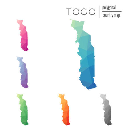 Map Of Togo Images Stock Pictures Royalty Free Map Of Togo - Togo map outline