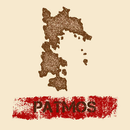 Patmos map icon.