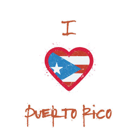 I love Puerto Rico icon.