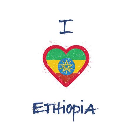I love Ethiopia t-shirt design