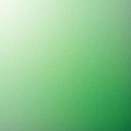 Low poly pattern design. Small cells. Vector polygonal background filled with dark green to light green gradient. Geometric style poster backdrop.