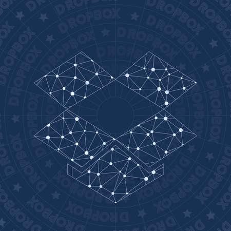 Dropbox Network Symbol Alive Constellation Style Symbol Classy