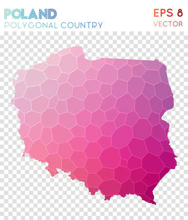 Poland polygonal map