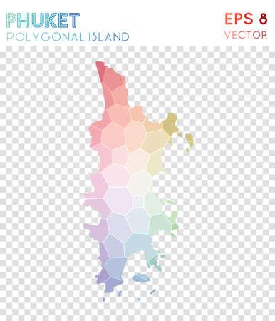 Phuket polygonal map