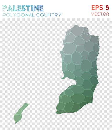 Palestine polygonal map