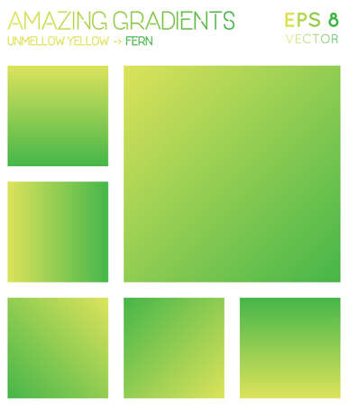 Colorful gradients in laser lemon, fern color tones. Admirable gradient background, ravishing vector illustration.