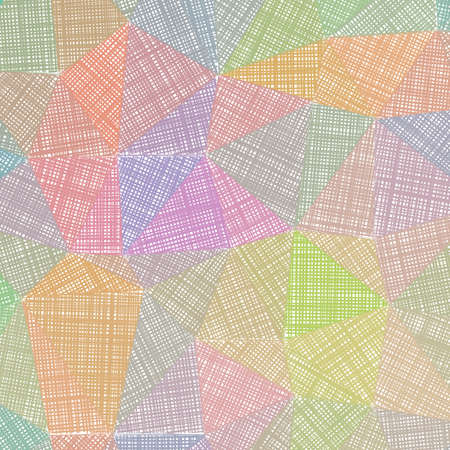 Hand-drawn pencil background. Marker hatching background. Actual pencil sketch with colorful strokes. Glamorous vector illustration.