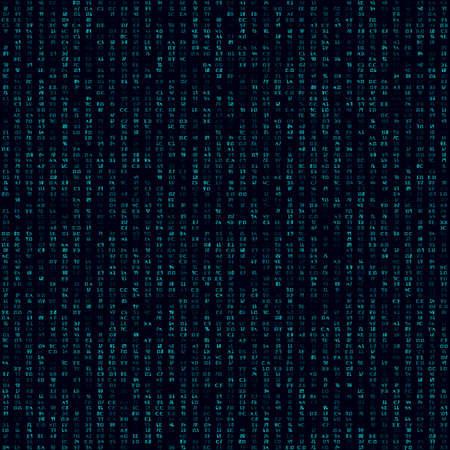 Digital pattern. Seamless pattern. Cool background. Captivating vector illustration.