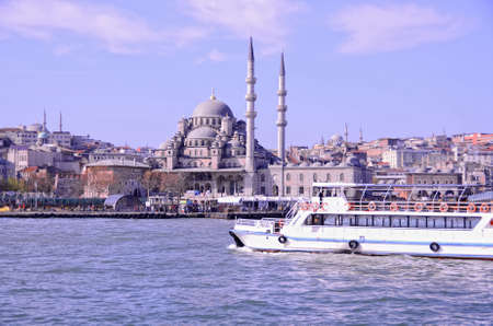 turkiye: istanbul building view from strait bosphorus