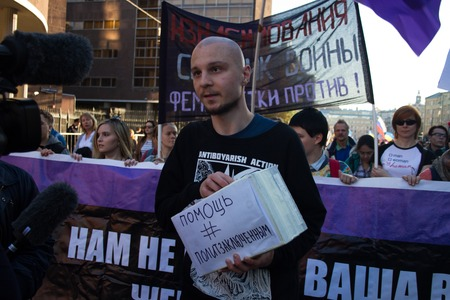 political prisoner: Former political prisoner Vladimir Akimenkov