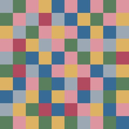 burgundy colour: Colored squares textile abstract background