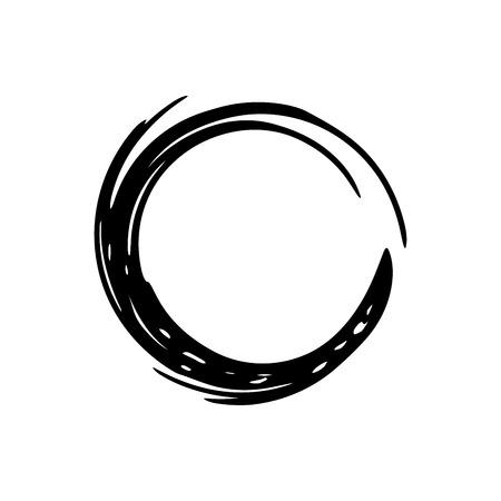 ink spot: Circle grunge ink spot vector background. Circle vector. Ink vector. Circle background. Ink background. Spot EPS. Grunge vector. Circle brush black