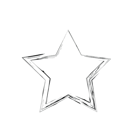 estrellas cinco puntas: grunge star vector. Five-pointed star. Vector star symbol. The heavenly stars. Soviet and American star Vectores