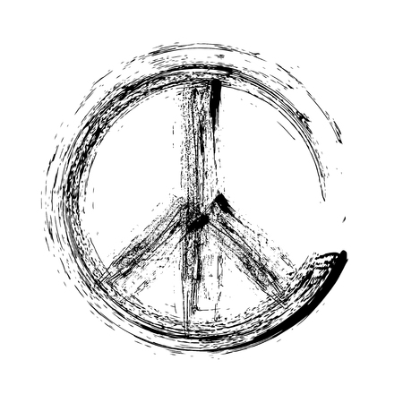 brushwork: peace symbol icon vector. Peace Symbol Vector. Peace Symbol Design. Peace Symbol Sign. Peace Symbol Ink. Peace Symbol Element. Peace Symbol Vector. Peace Sketch. Peace Symbol Paint. Peace Symbol Art