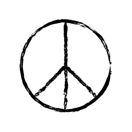 Peace Symbol Icon Vector Peace Symbol Vector Peace Symbol Design