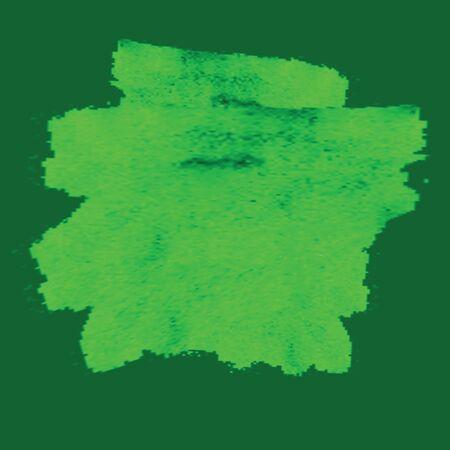 Green watercolor background gradient mesh. Environmental texture paint