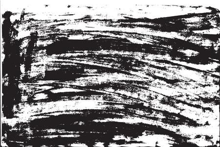 Grunge background brush strokes of black paint