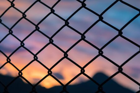 unfreedom: Sunset outside the cage