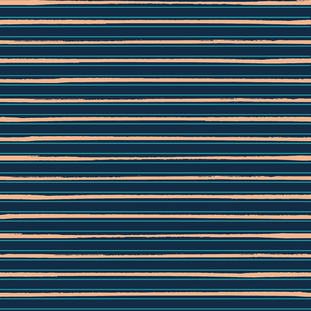 Luxurious gold rich blue striped horizontal geometric design. Seamless vector pattern. Perfect for men fashion, stationery, fabrics, textiles, home decor, giftwrapping, coordinates. Illustration