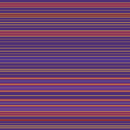Vibrant red, purple and gold dense striped design. Seamless vector pattern with straight horizontal lines. Great for luxury, wellbeing, beauty products, home decor, gift wrap, stationery, packaging.