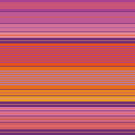 Vibrant purple, pink and orange densely striped design. Seamless vector pattern with bright beach vibe. Great for beach and wellbeing products, yoga, textiles, giftwrap, marketing, packaging
