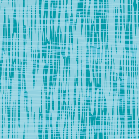 Contemporary abstract blue watercolor paint effect texture. Vector seamless grid pattern on blue background. Perfect for packaging, wellness, spa, beauty products, stationery, fabric, giftwrap. Illustration