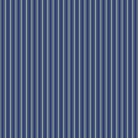 Multi-width thin green shirting stripe design. Seamless vector pattern on dark blue background. Great for wellness products, textiles, texture, home decor, gift wrapping paper, packaging. Иллюстрация