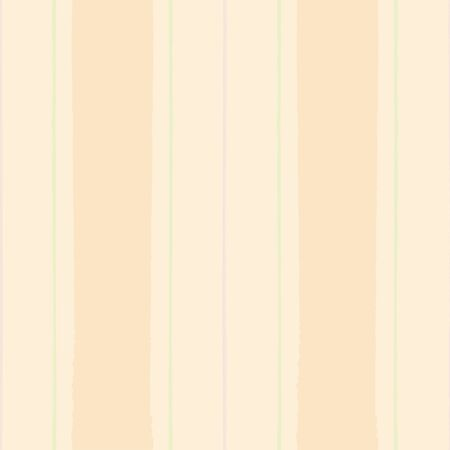 Painterly modern vintage shirting stripe in pastel peach, green and purple. Seamless vector pattern on light background. Great for wellness, beauty products, packaging, home decor, fabric stationery