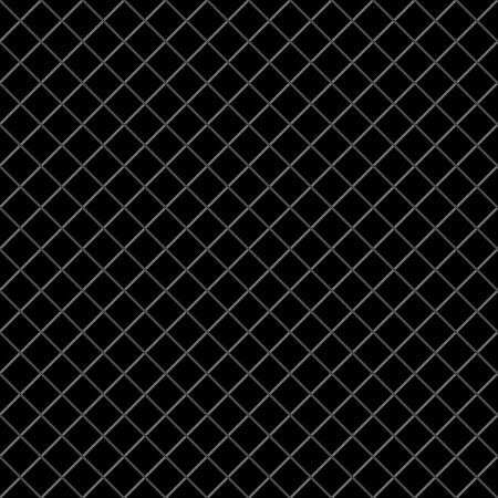 Vector weave grid dense seamless pattern background. Elegant black and gray criss cross backdrop. Woven cotton style diagonal geometric repeat design. All over print texture for packaging men products