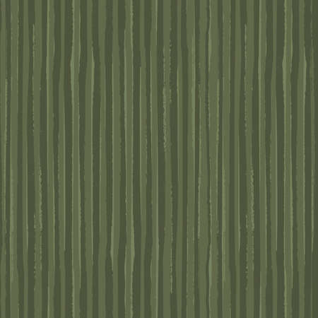 Painterly sage green stripe vector seamless pattern background. Overlapping brush stroke style striped monochrome backdrop. Sketchy linear geometric blended design. Versatile repeat for wellness
