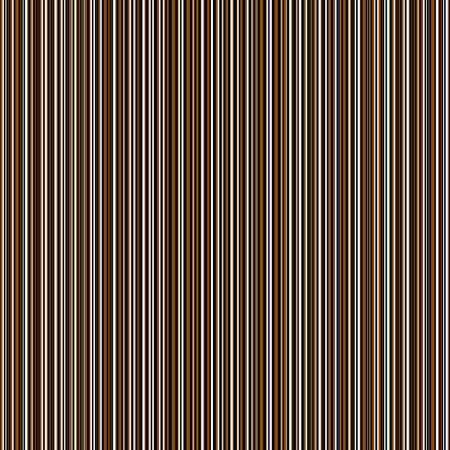 Vector seersucker dense striped seamless pattern background. Ochre black white random vertical pinstripe repeat backdrop. Earthy fabric style ticking design. Textural all over print for wellness